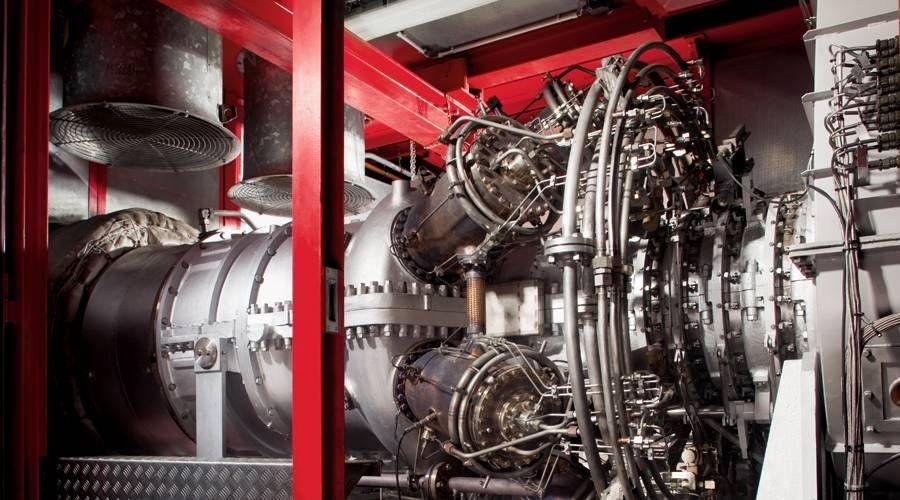 涡轮机的排放测量