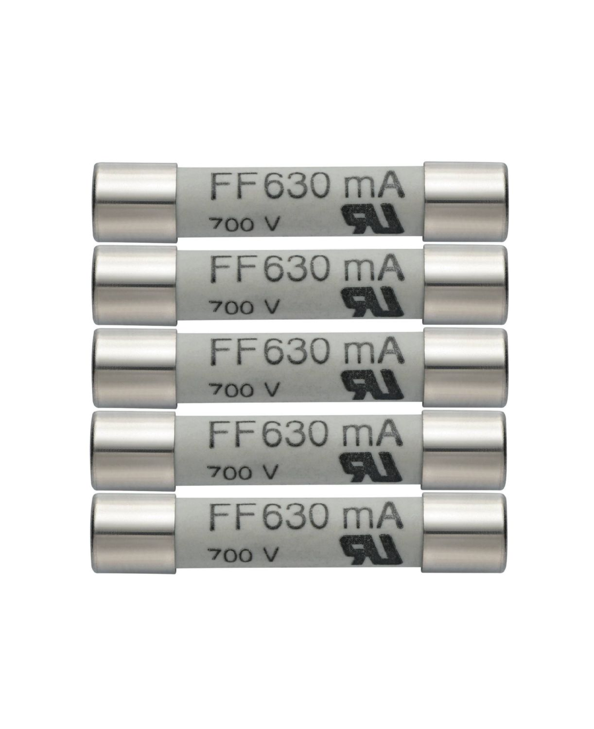 Fusibles de rechange 630 mA/600 V 0590 0007