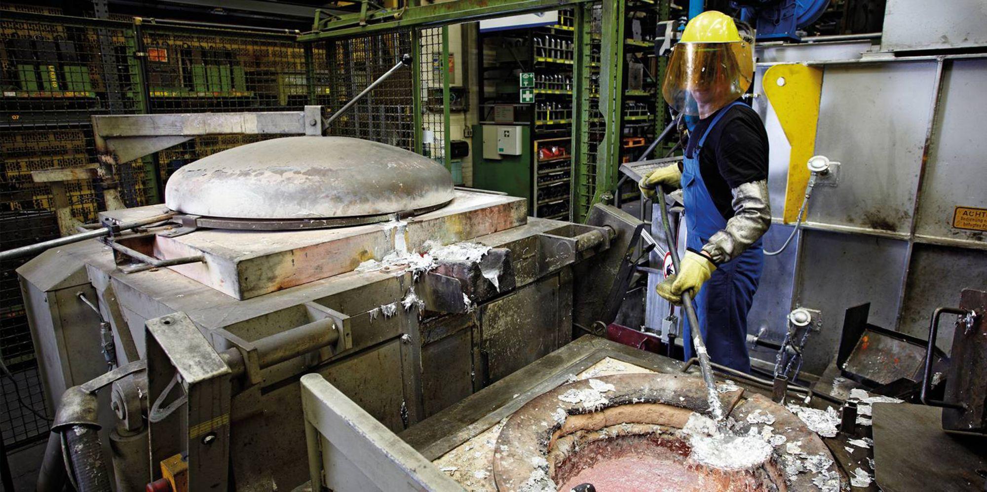 Usines d'aluminium