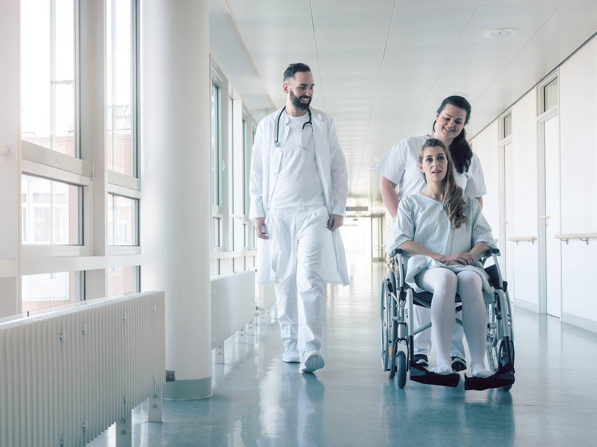 Temperature monitoring in hospitals
