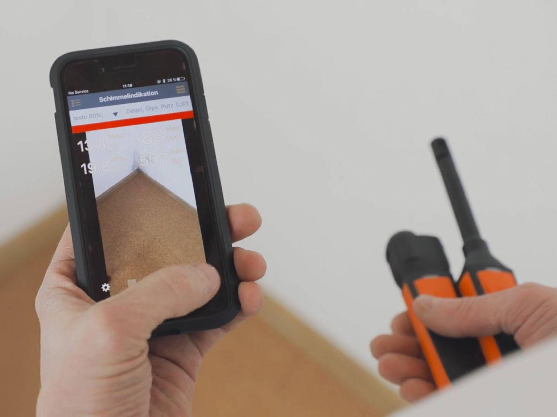 Instrumentos de medição de smartphone