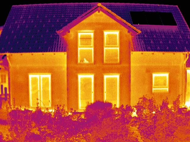 Thermal image building
