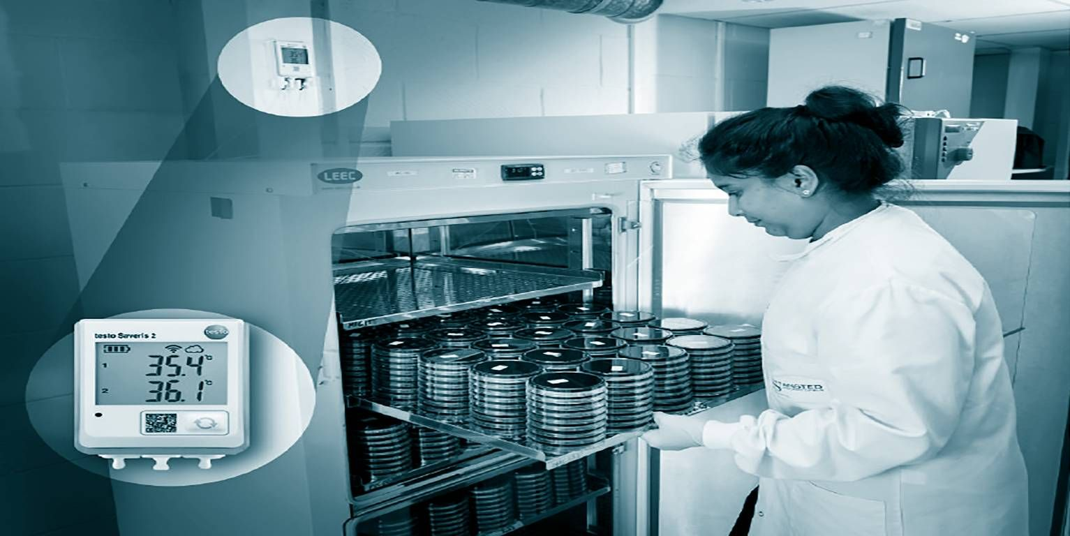 Automated temperature monitoring in Stansted Laboratories