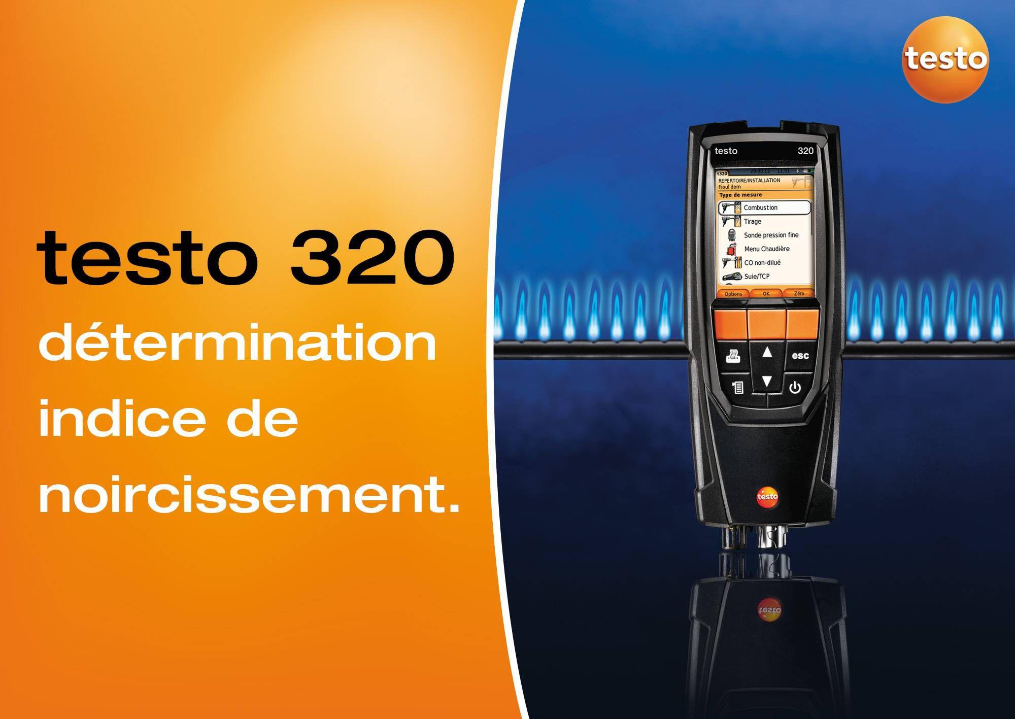 tutoriel vidéo mesure indice de noircissement testo 320