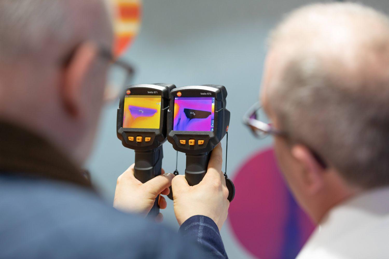 Waermebildkameras von Testo auf der ISH