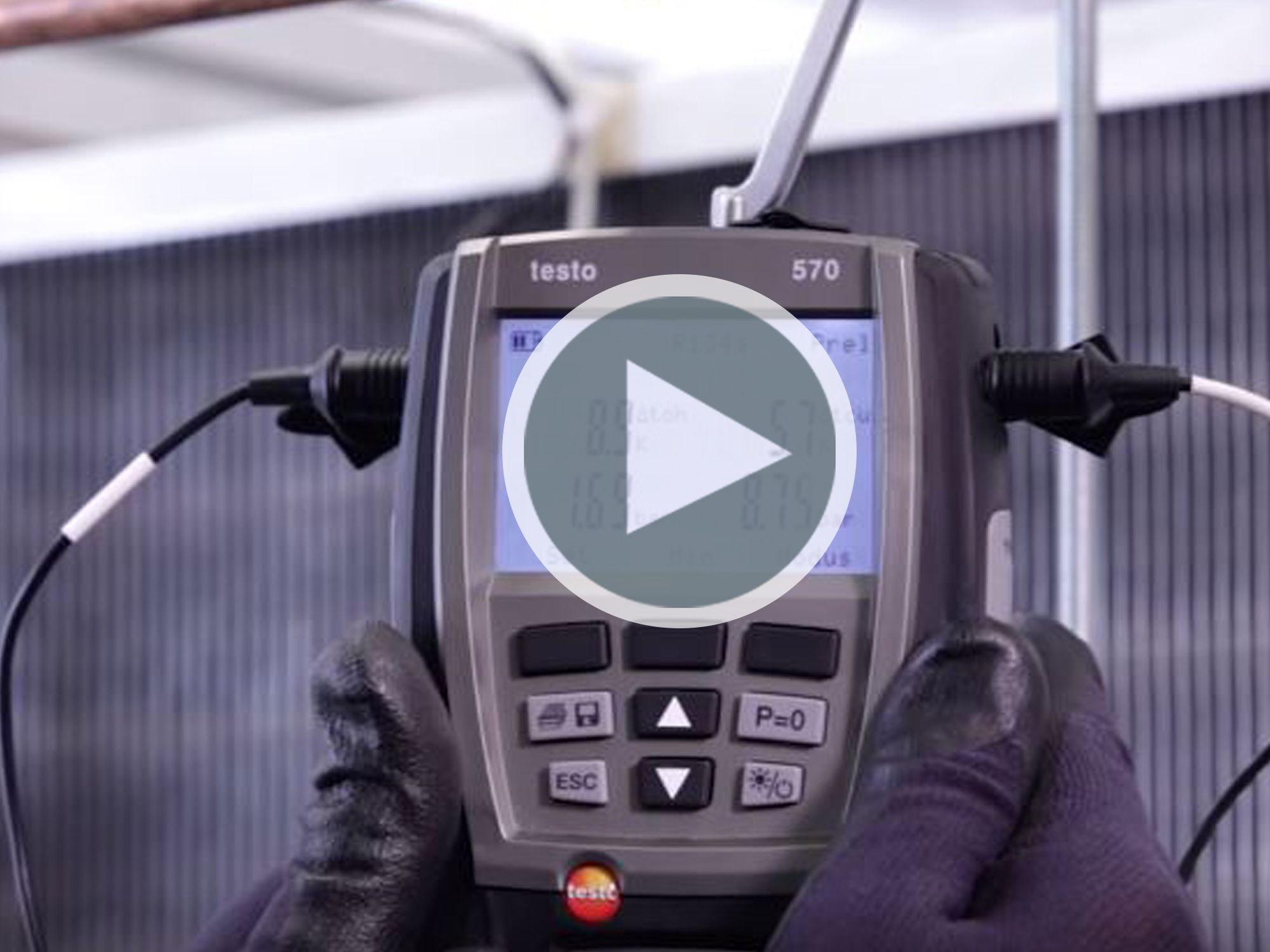 Application Videos:  testo 570