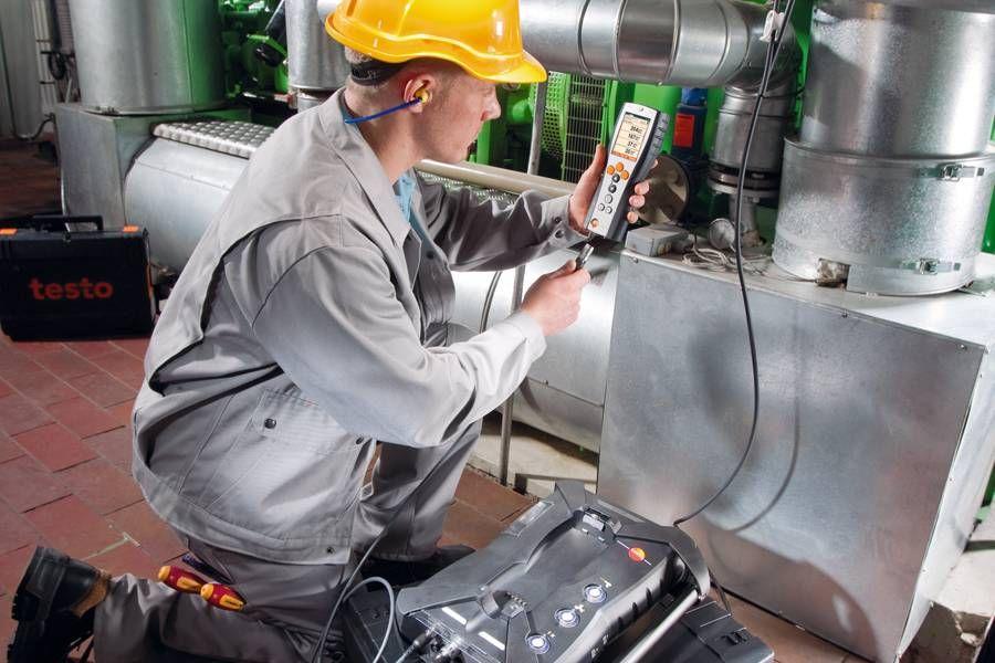 排放测量检测 - testo350烟气分析仪