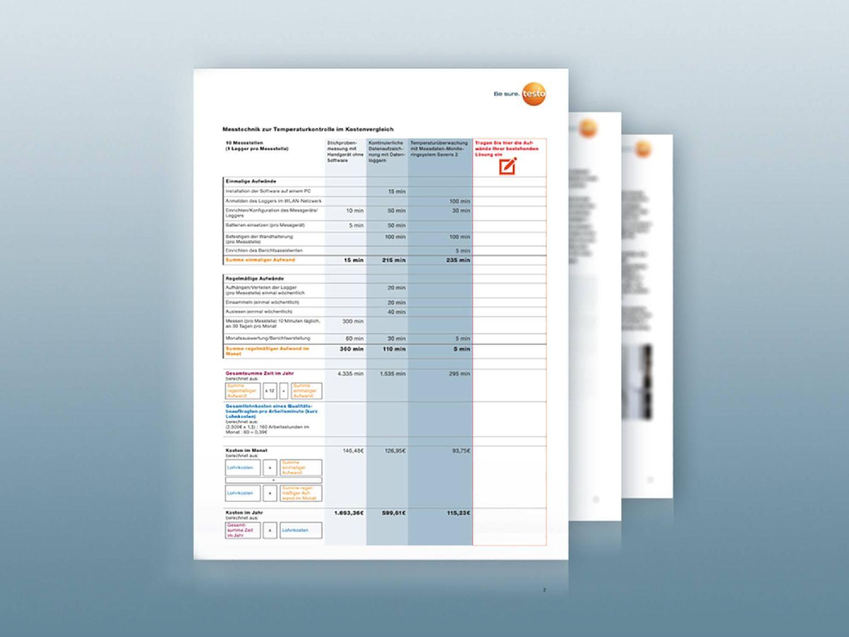 Testo Whitepaper zum Thema automatisierte Temperaturüberwachung