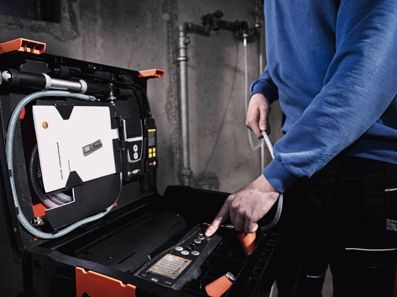 Kit professionnel avec débitmètre de fuite