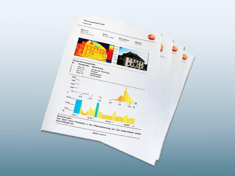 Thermografie Bericht erstellen