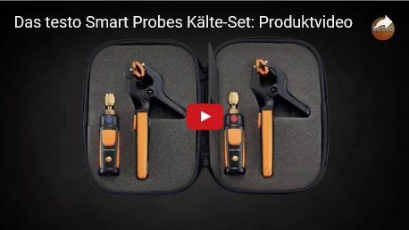 Das testo Smart Probes Kälte-Set