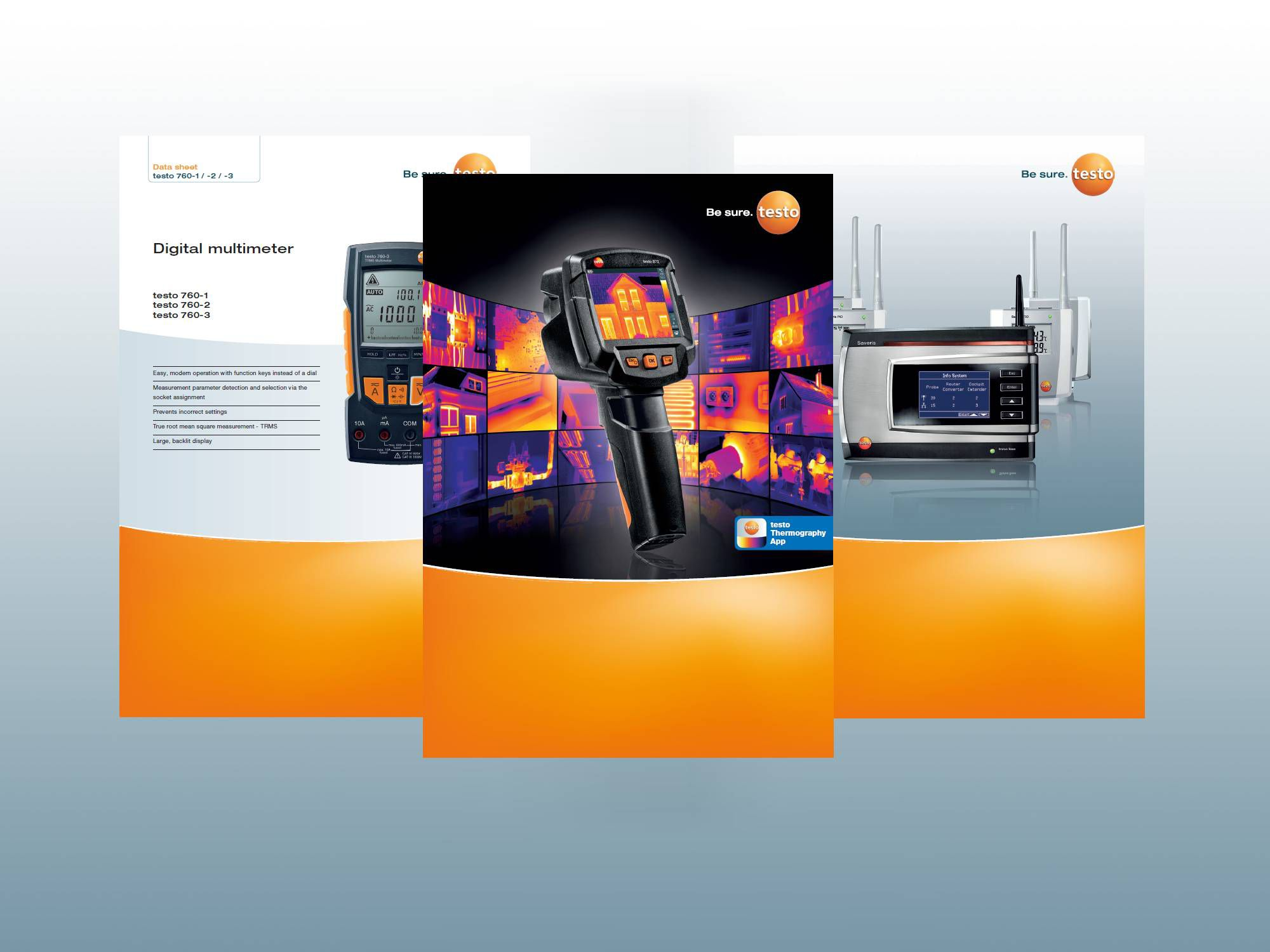 Testo brochures and data sheets