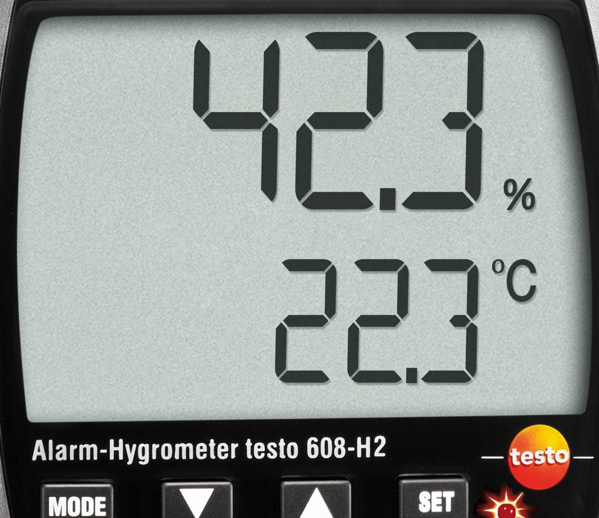 testo 608-H2 thermo hygrometer