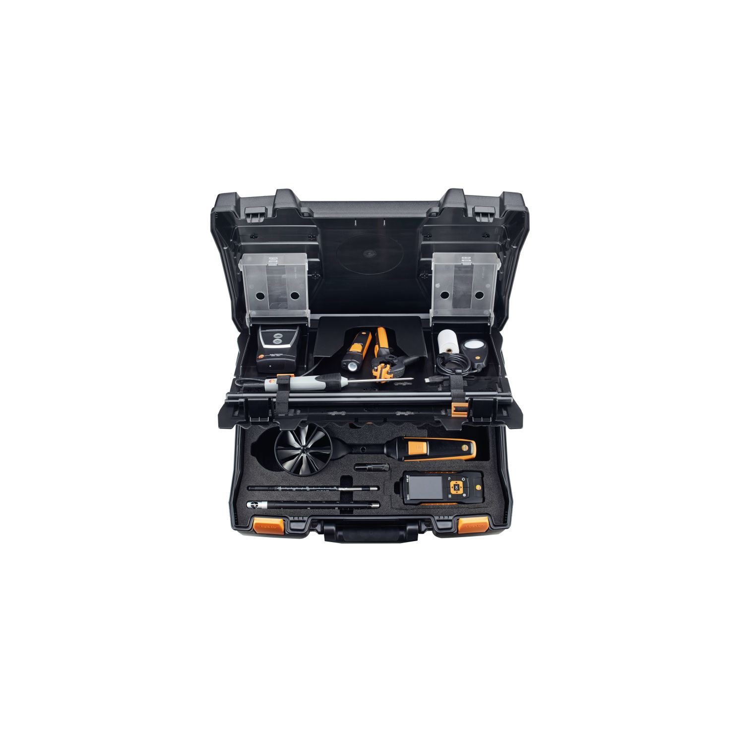 Service case for volume flow measurement  for testo 440
