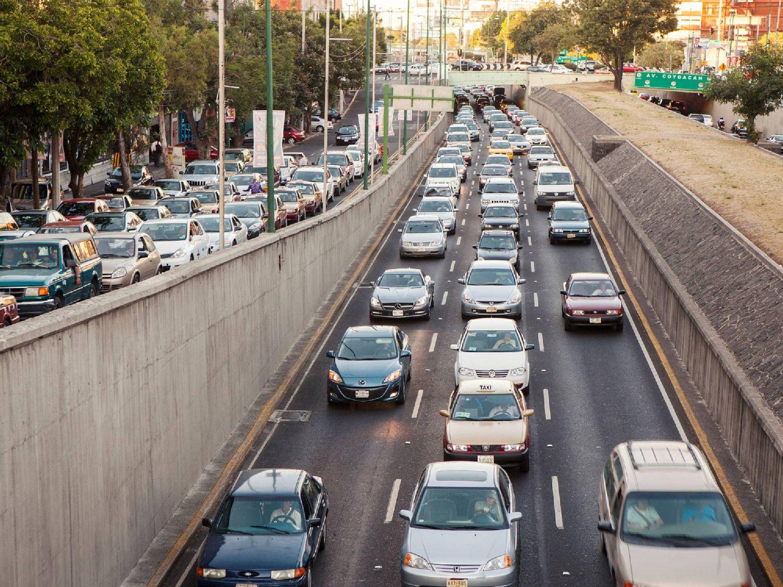 Die starke Verkehrsbelastung in Mexiko-Stadt wird zum Problem für die Gesundheit der Einwohner