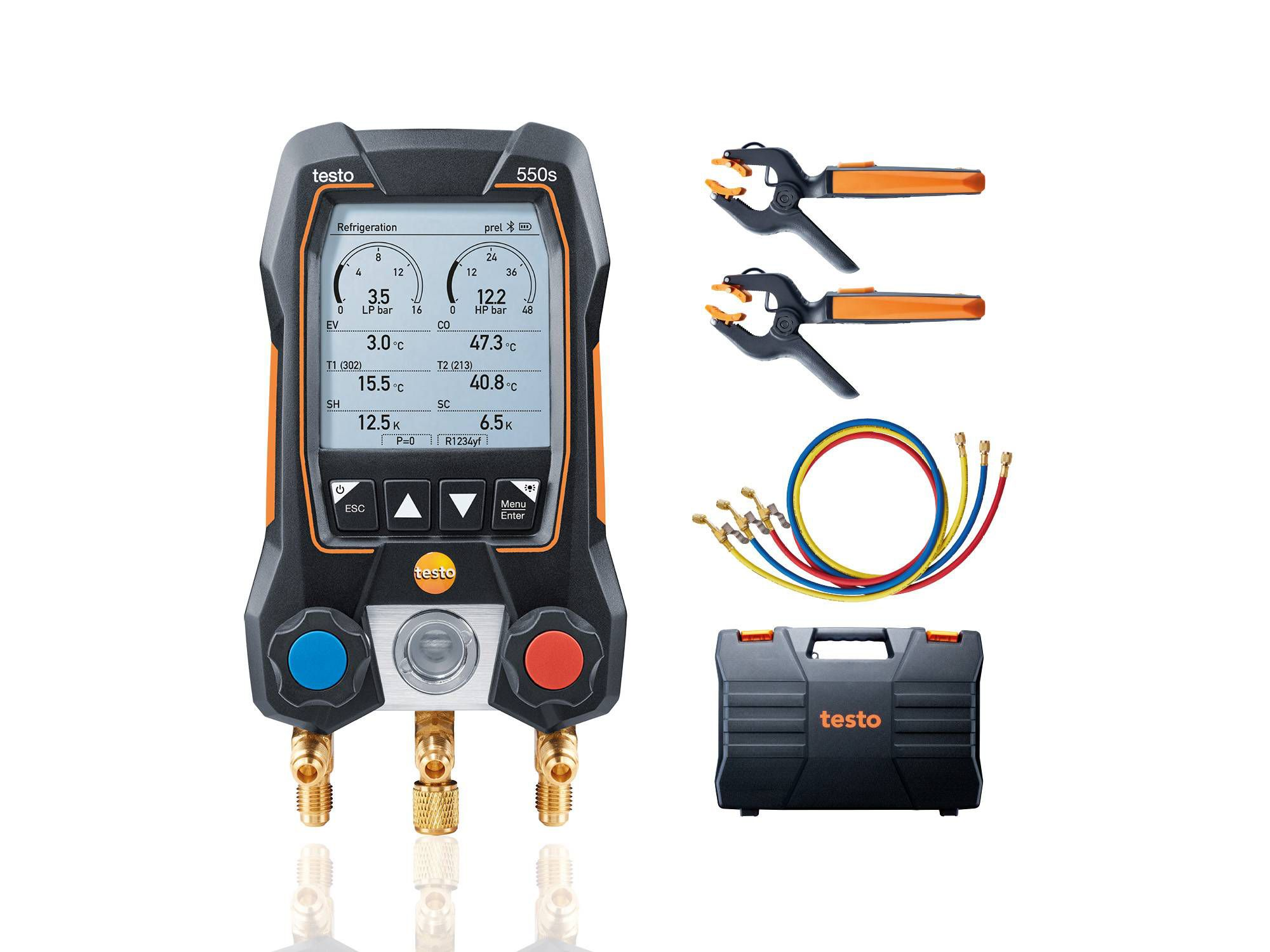 testo 550s kit Smart