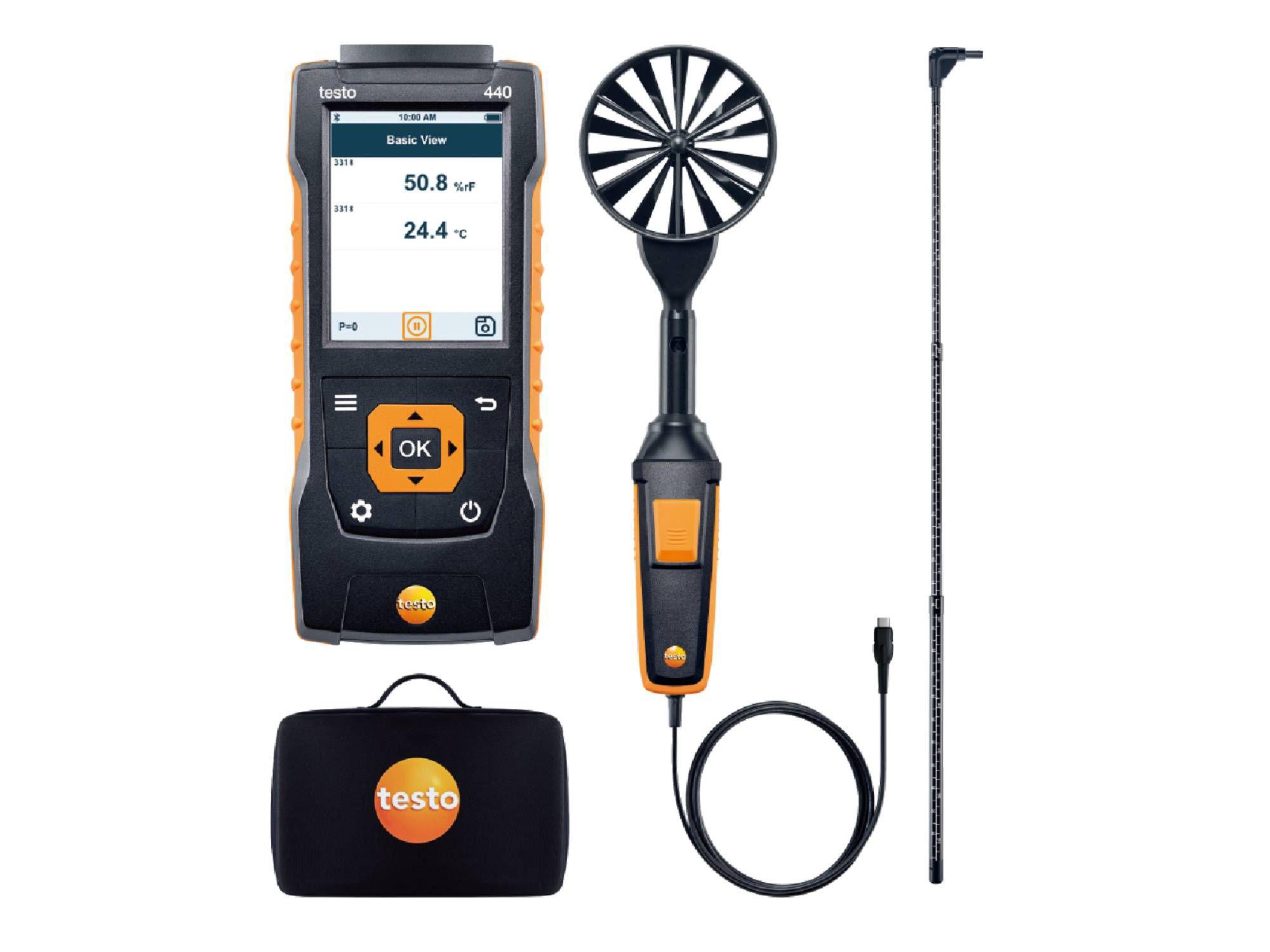 testo440 Air Flow ComboKit 2 with Bluetooth®