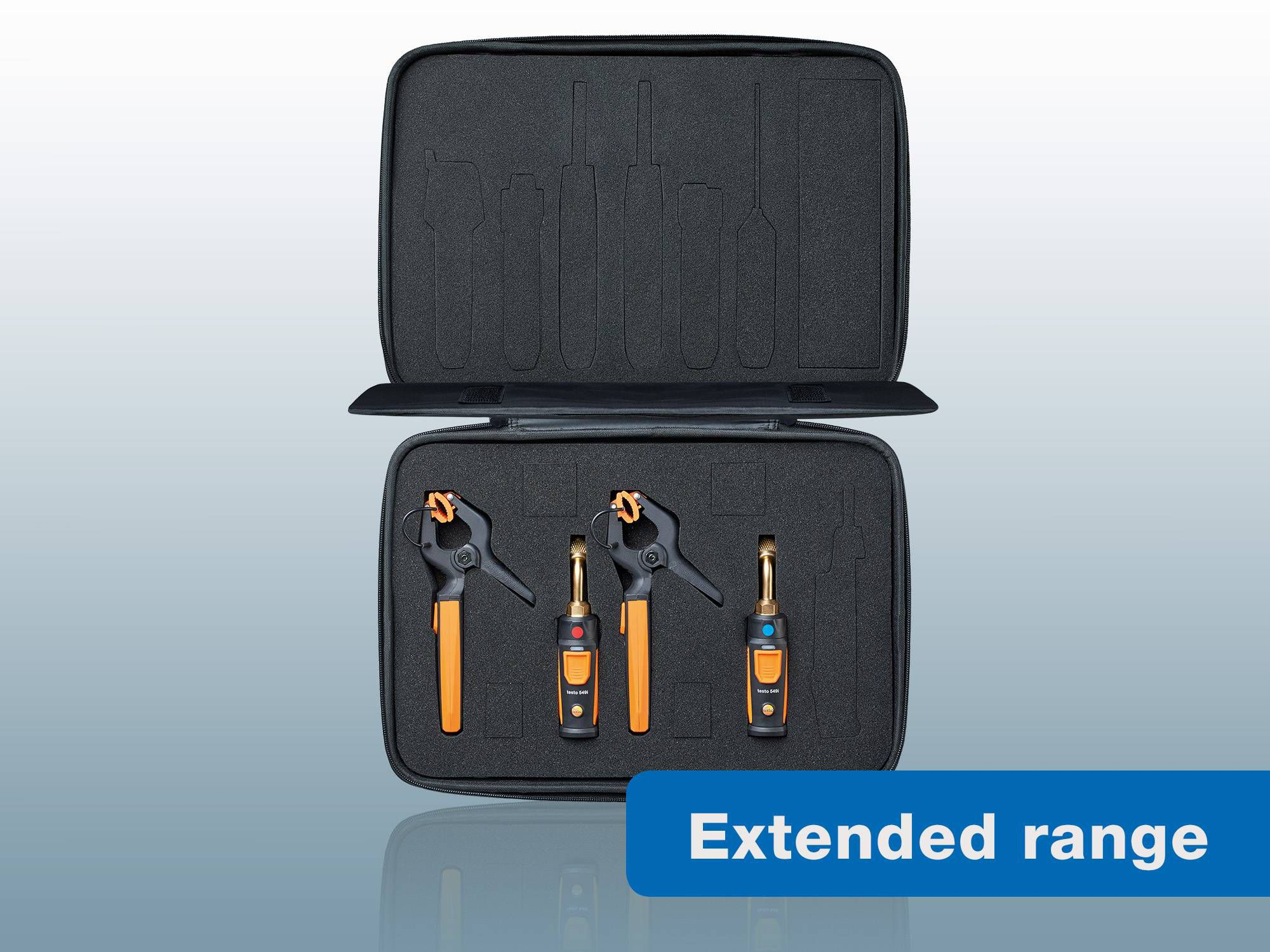 testo Smart Probes  AC & refrigeration test kit new with extended Bluetooth range
