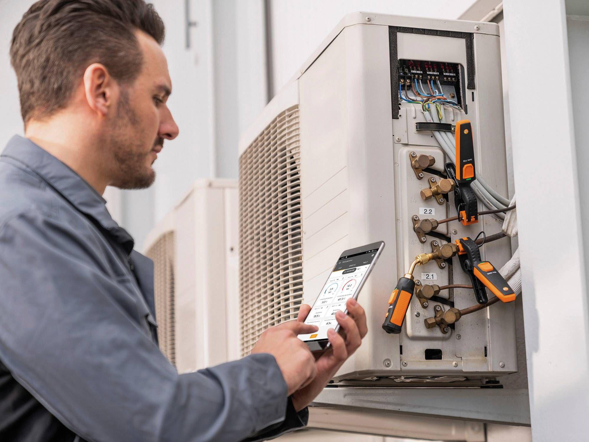 testo Smart App refrigeration systems