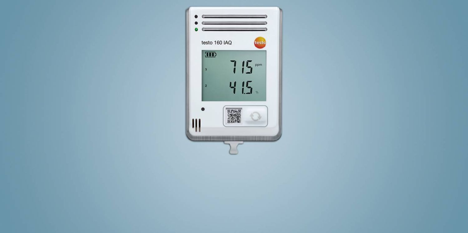 WiFi data logger <br />testo 160 IAQ