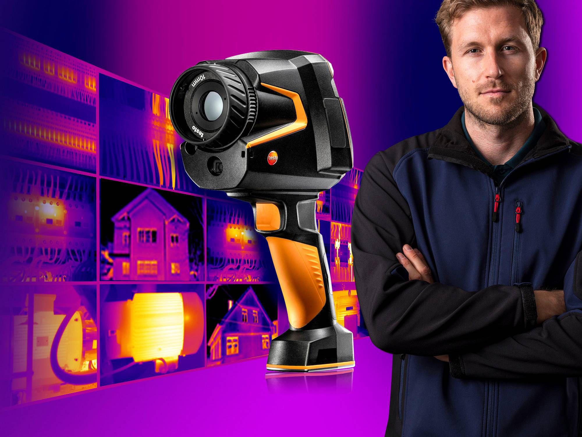 Neue Wärmebildkamera testo 883
