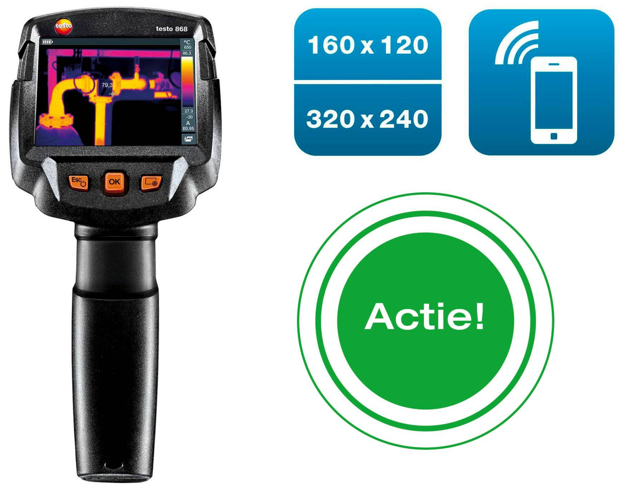 Promo offer themal imager testo 868