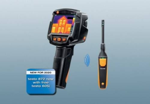 testo 872: Smart thermography with the highest quality images.
