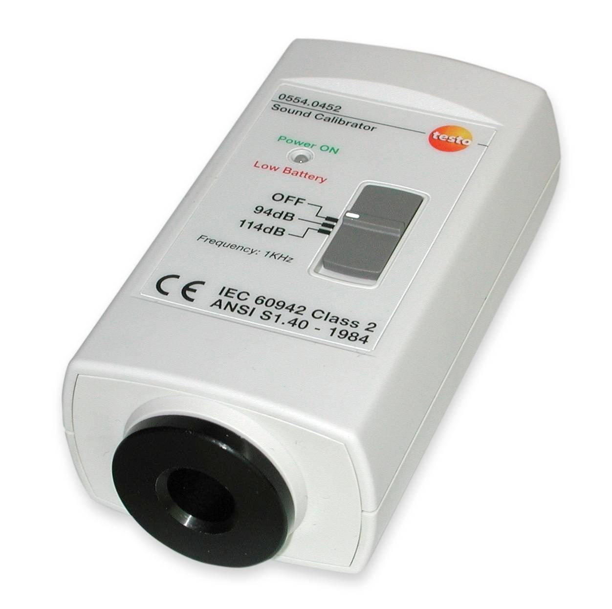 Calibrateur pour sonomètre