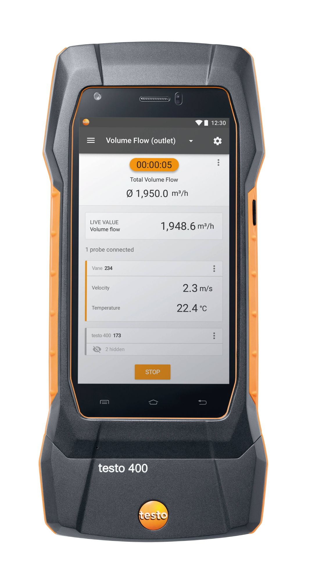 testo 400 universal IAQ instrument | Portable devices - with