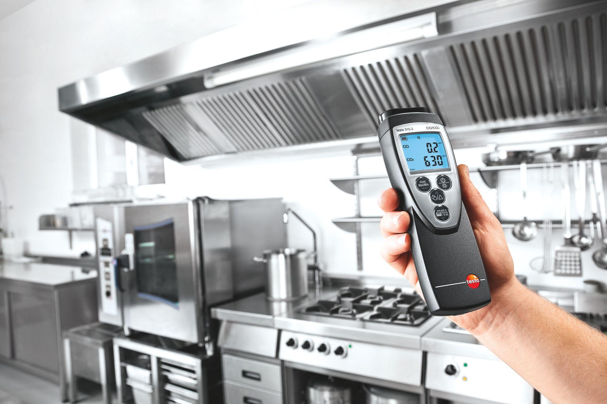 Umgebungsmessung in Küchen