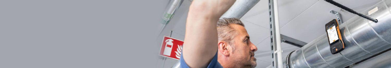 Soluții de măsurare pentru <strong>sistemele de ventilație.</strong>