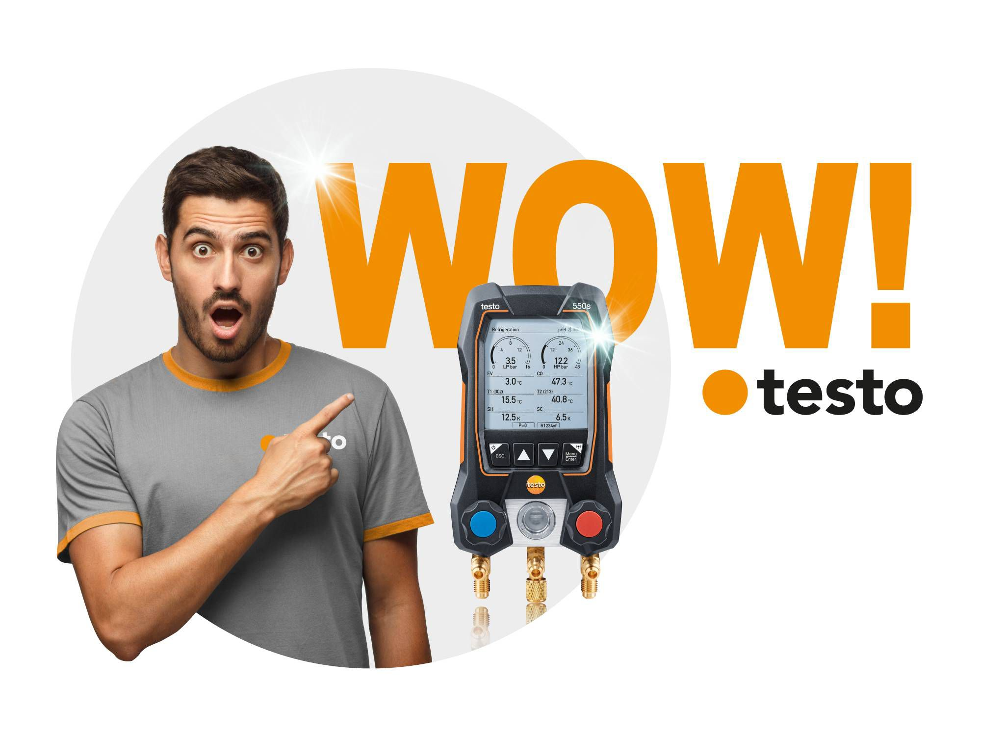 testo 550s campaña wow-features