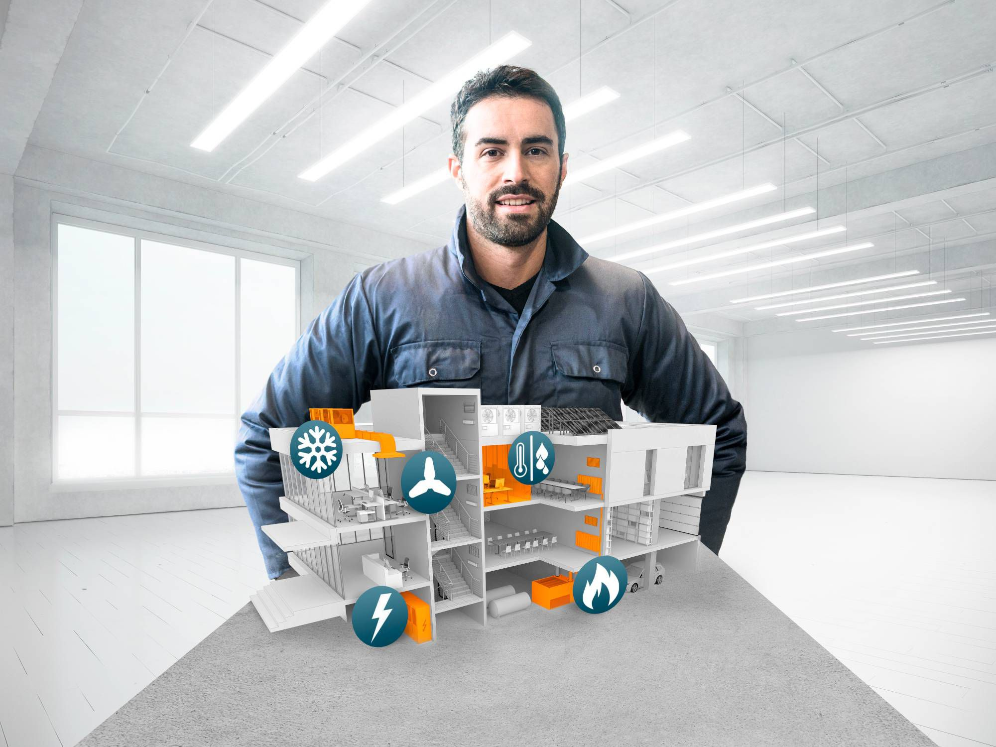 Guarantee building efficiency and comfort with measurement solutions from Testo