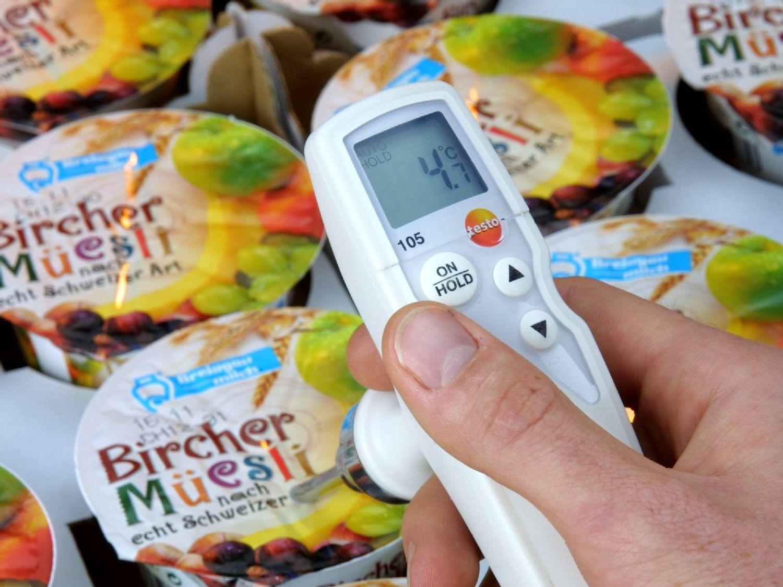 Termometro a penetrazione per il reparto ricevimento merci