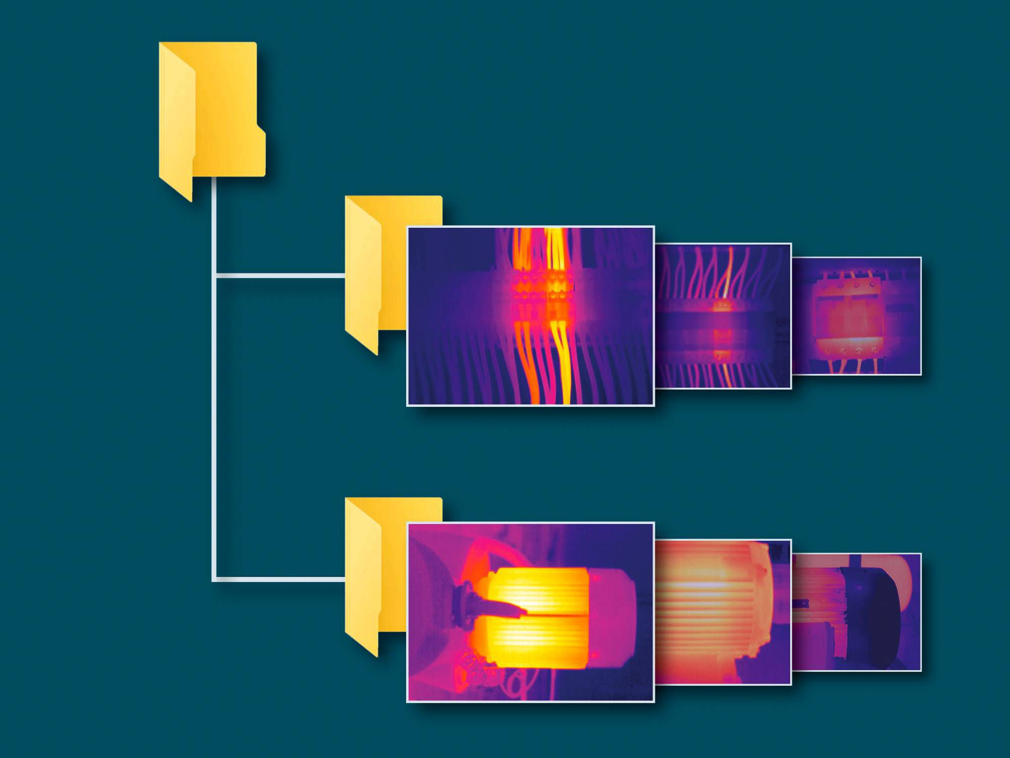 Database with thermal images