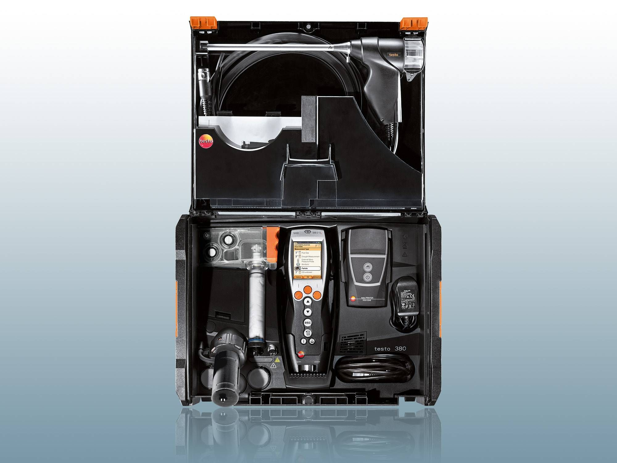 Particulate matter measurement system testo 380