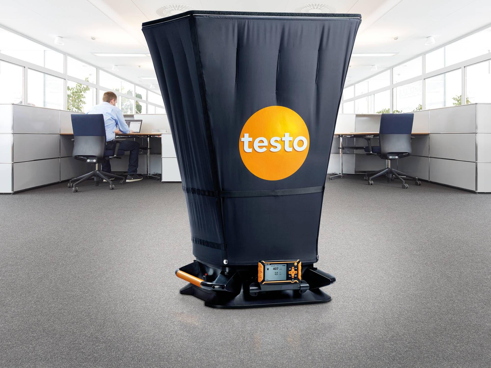 testo 420 getest door CES