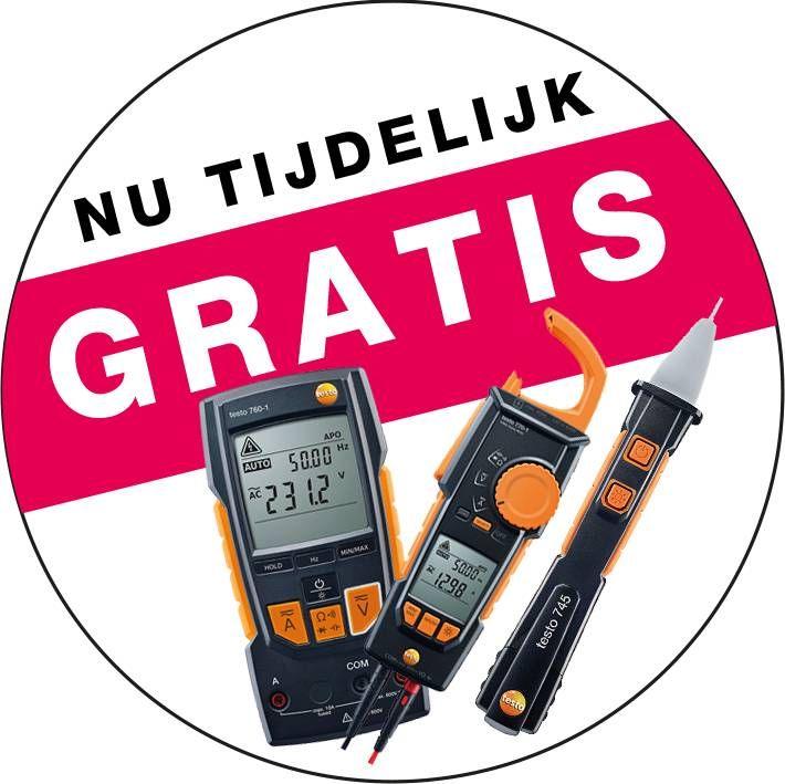 Gratis electrische meettool