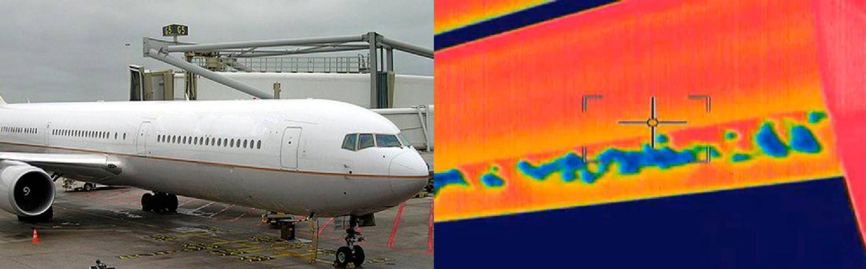 Termografia testo en aeronáutica
