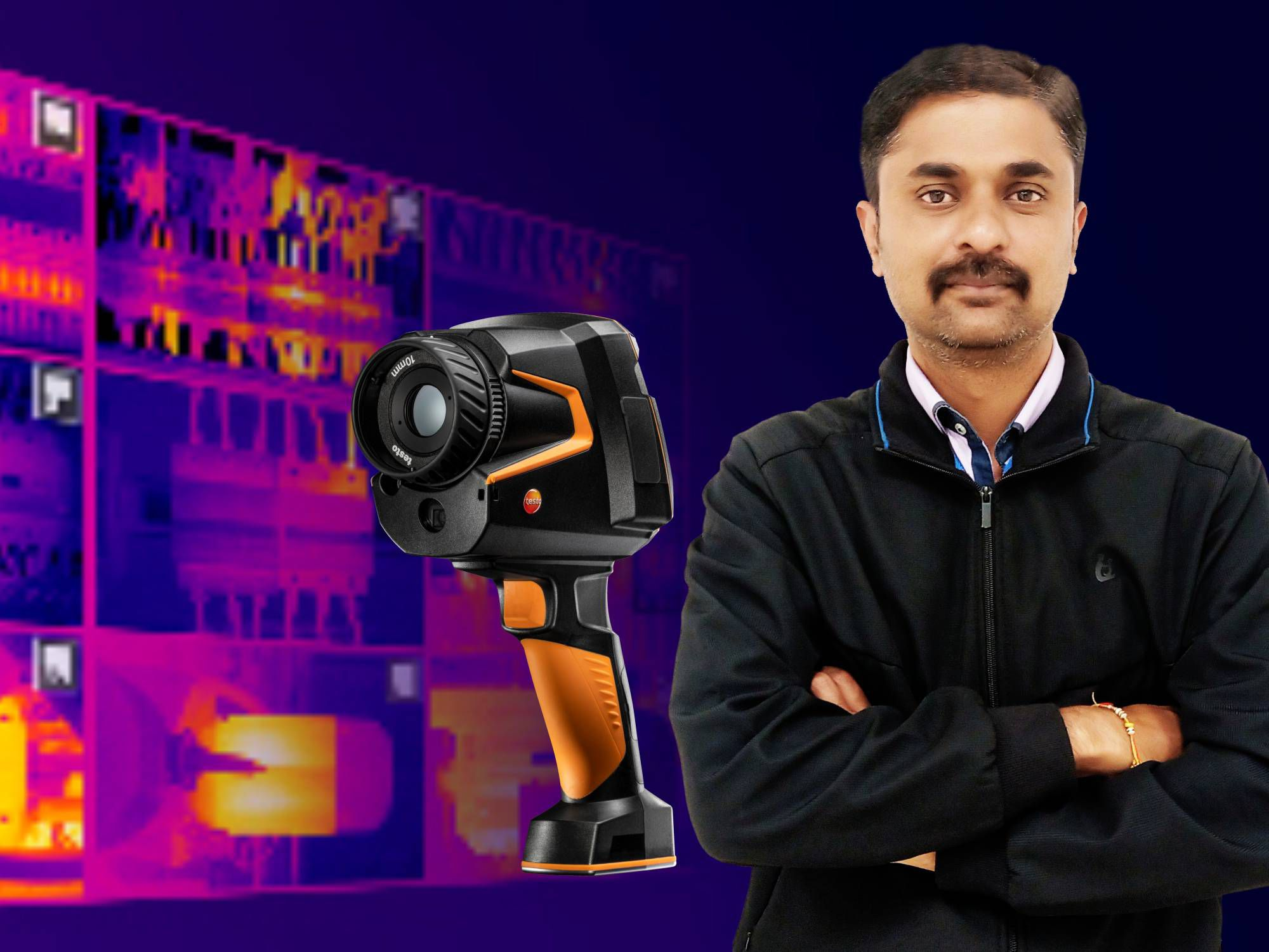 The New Thermal Imager testo 883