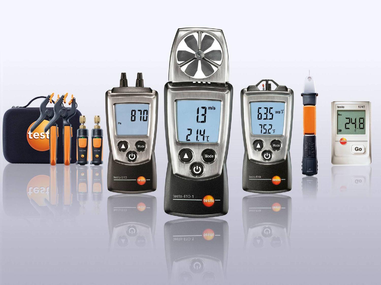 Testo-Messgeräte für Kältetechniker
