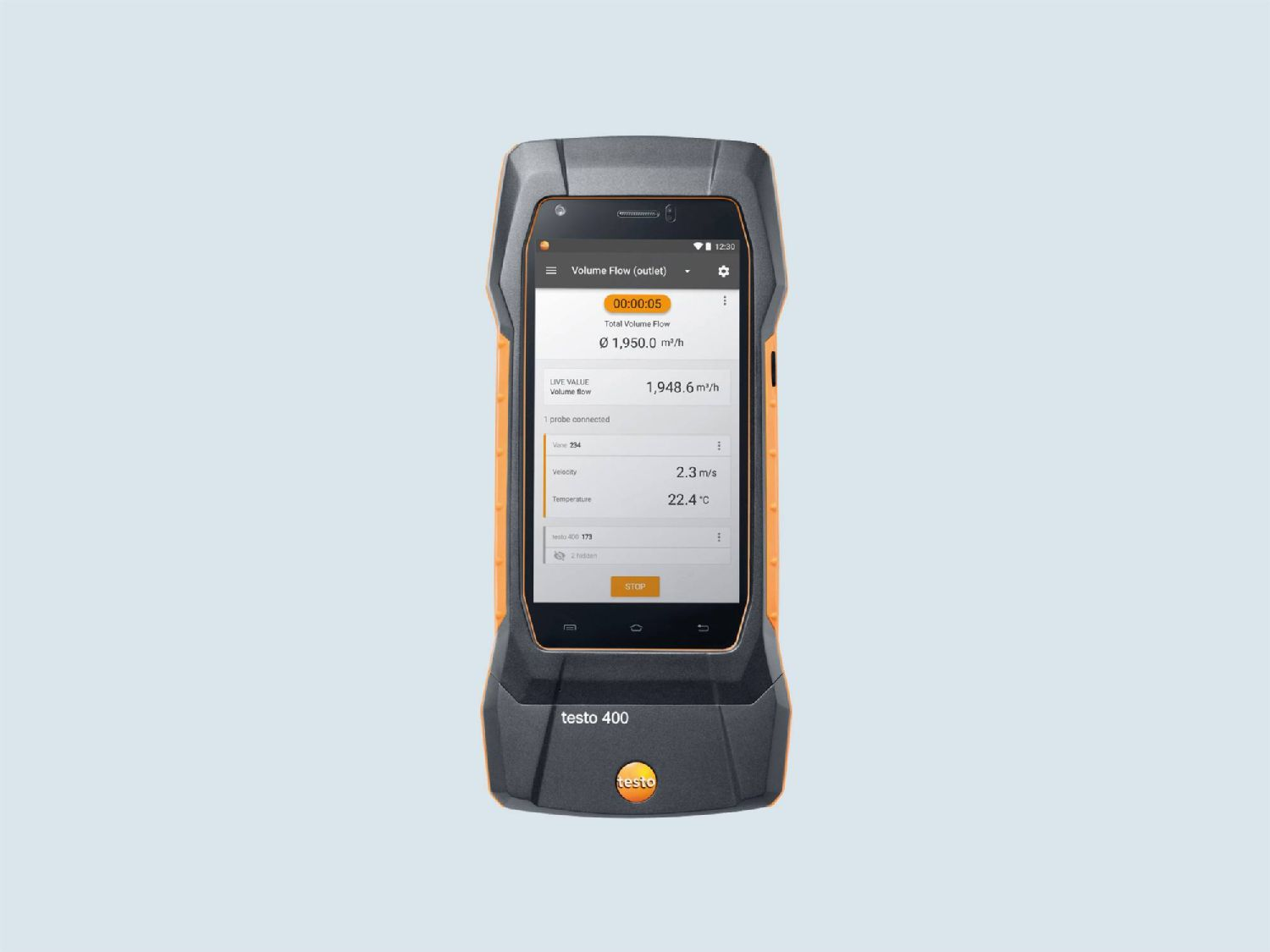 Testo humidity measuring instrument