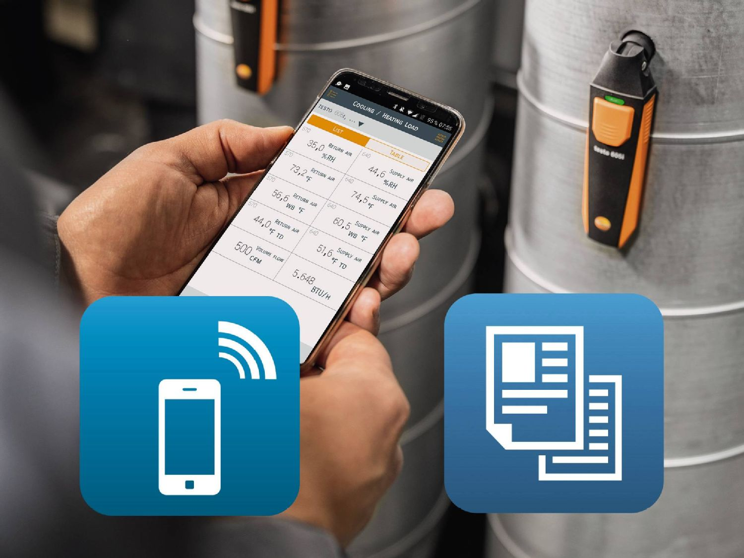 Testo Smart Probes with App