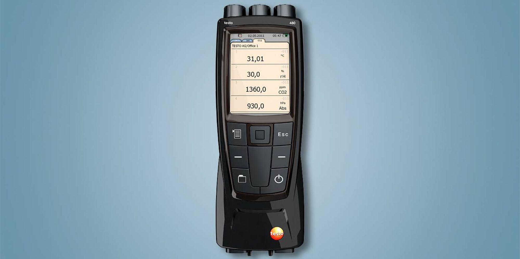 testo 480 多功能测量仪