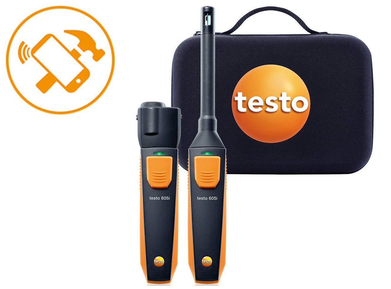 testo Smart Probes Set Anwendungs-Highlight Schimmeldetektion