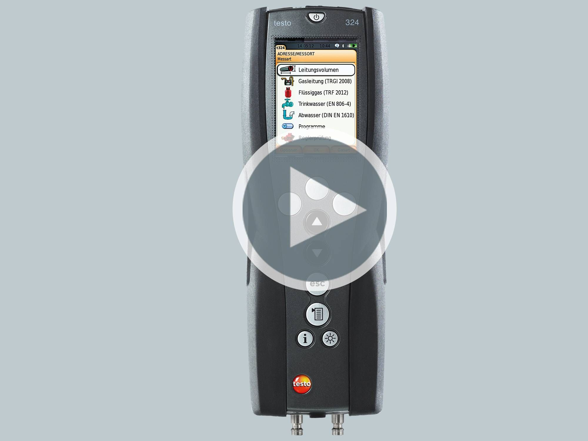 Application Videos: testo 324