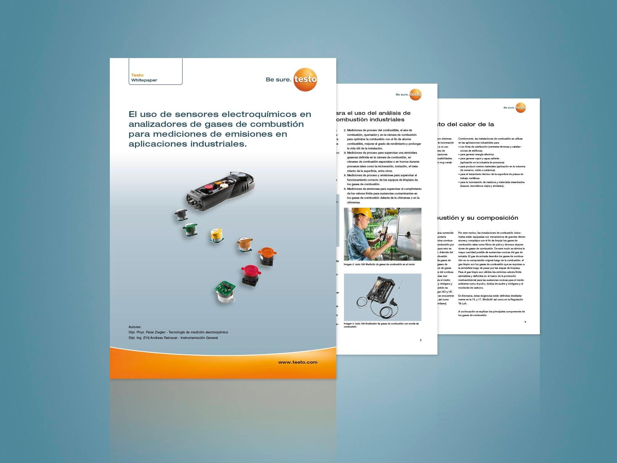 Whitepaper sensores electroquímicos Testo