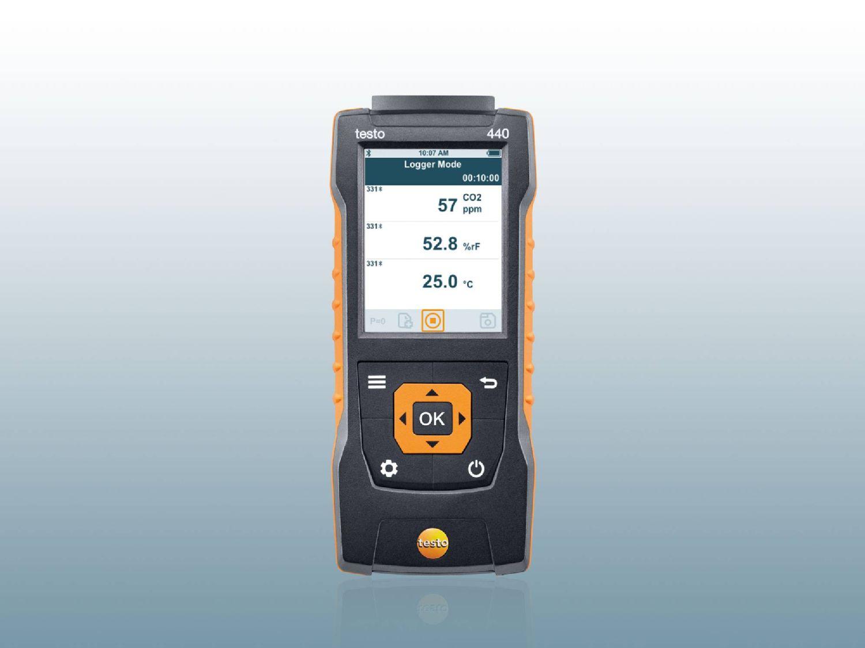 Medidor de la temperatura superficial de Testo