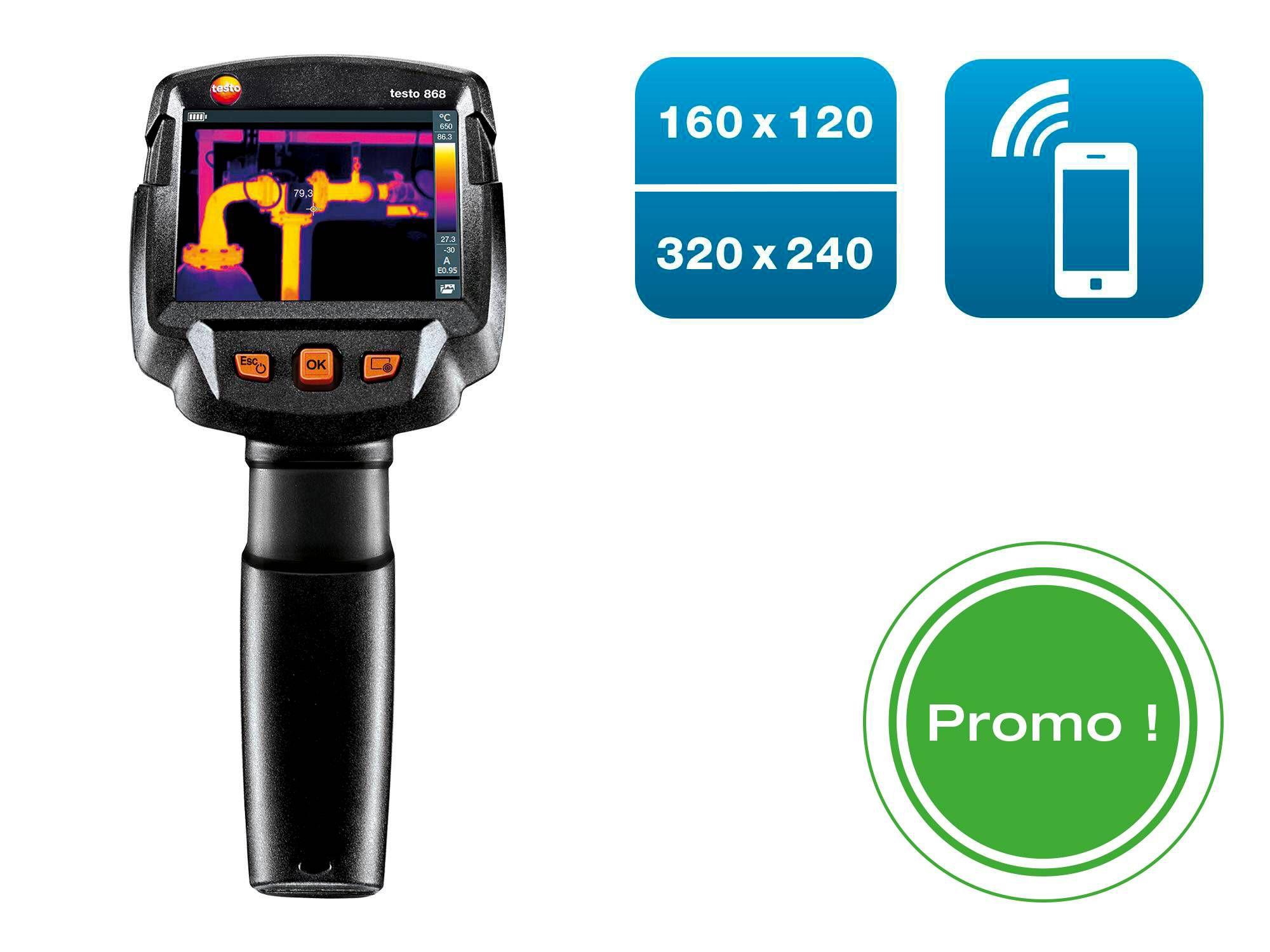 Offre promotionnelle caméra thermique testo 868