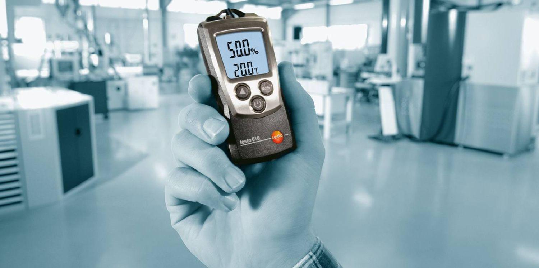 Termoigrometro testo 610
